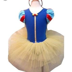 Other - Snow White Tutu with head band size 6-7T